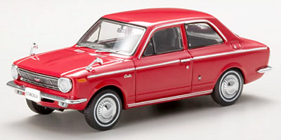 【43894】TOYOTA COROLLA 1100 1966 (RED)