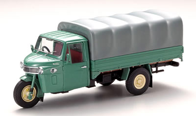 【43968】DAIHATSU CM 3WHEEL TRUCK CANVAS TOP 1962