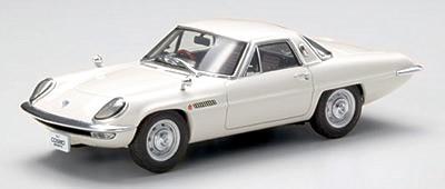 【44027】MAZDA COSMO SPORT 1967 (WHITE)