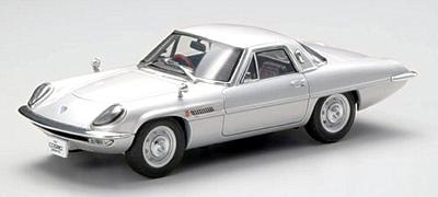 【44029】MAZDA COSMO SPORT 1967 (SILVER)