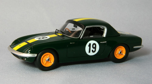 【44196】LOTUS RACING ELAN TYPE26R Funabasi 1965 CCC race No. 19 【RESIN】