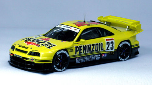 【44251】PENNZOIL SKYLINE R33 JGTC 1998 No. 23 High Down Force