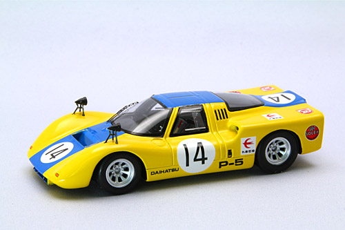 【44379】DAIHATSU P5 Japan GP 1968 No. 14 【RESIN】