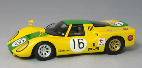 【44381】DAIHATSU P5 Japan GP 1968 No. 16 【RESIN】