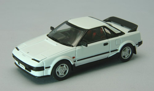 【44404】TOYOTA MR-2 1984 (WHITE)