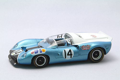 【44438】LOLA T70 Mk2 1967 Japan GP No. 14 【RESIN】