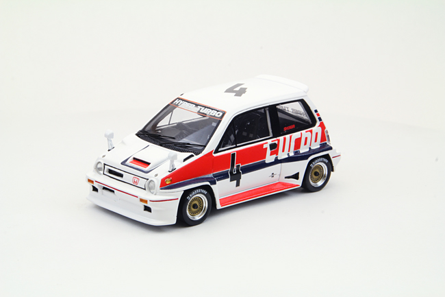 【44472】Honda City Turbo R 1982 Suzuka T.Boutsen【Resin】