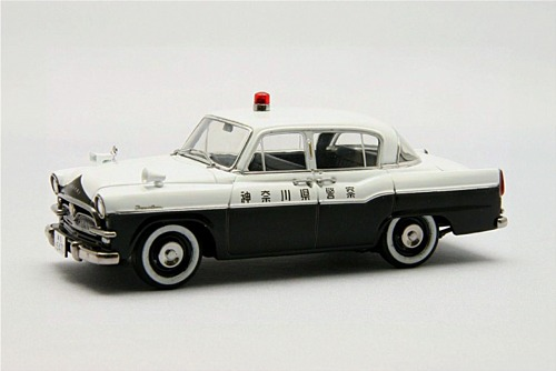 【44566】TOYOPET Crown RS21 POLICE CAR (WHITE/BLACK)