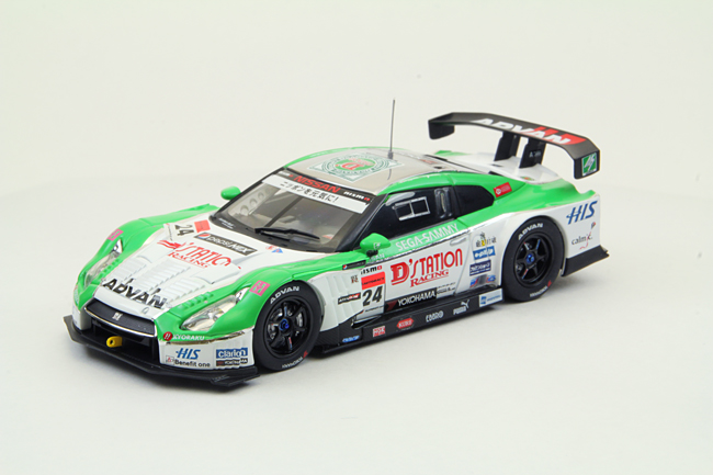 【44734】D'station ADVAN GT-R SUPER GT500 2012 No. 24
