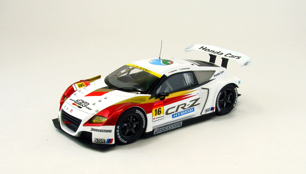 【44830】MUGEN CR-Z GT SUPER GT300 2012 Shake Down No. 16 【RESIN】