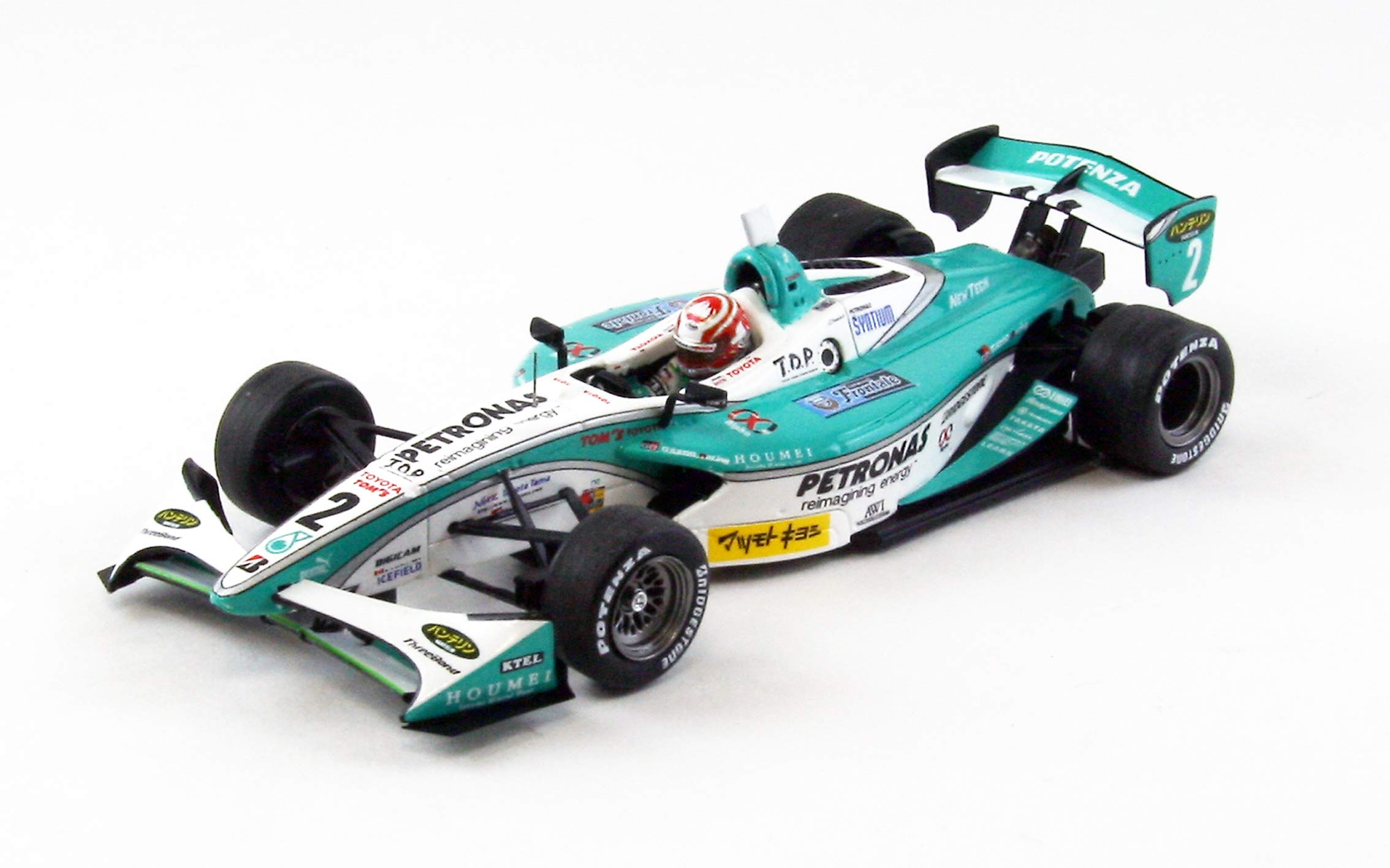 【44855】PETRONAS TEAM TOM'S No. 2 Formula NIPPON 2012 【RESIN】