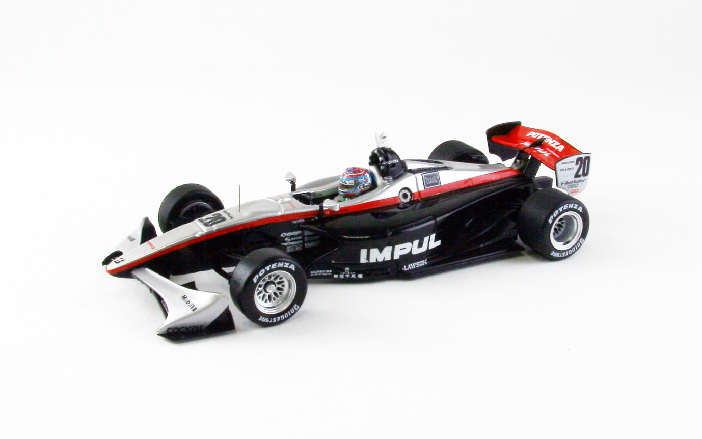 【44864】TEAM IMPUL No. 20 Formula NIPPON 2012 【RESIN】