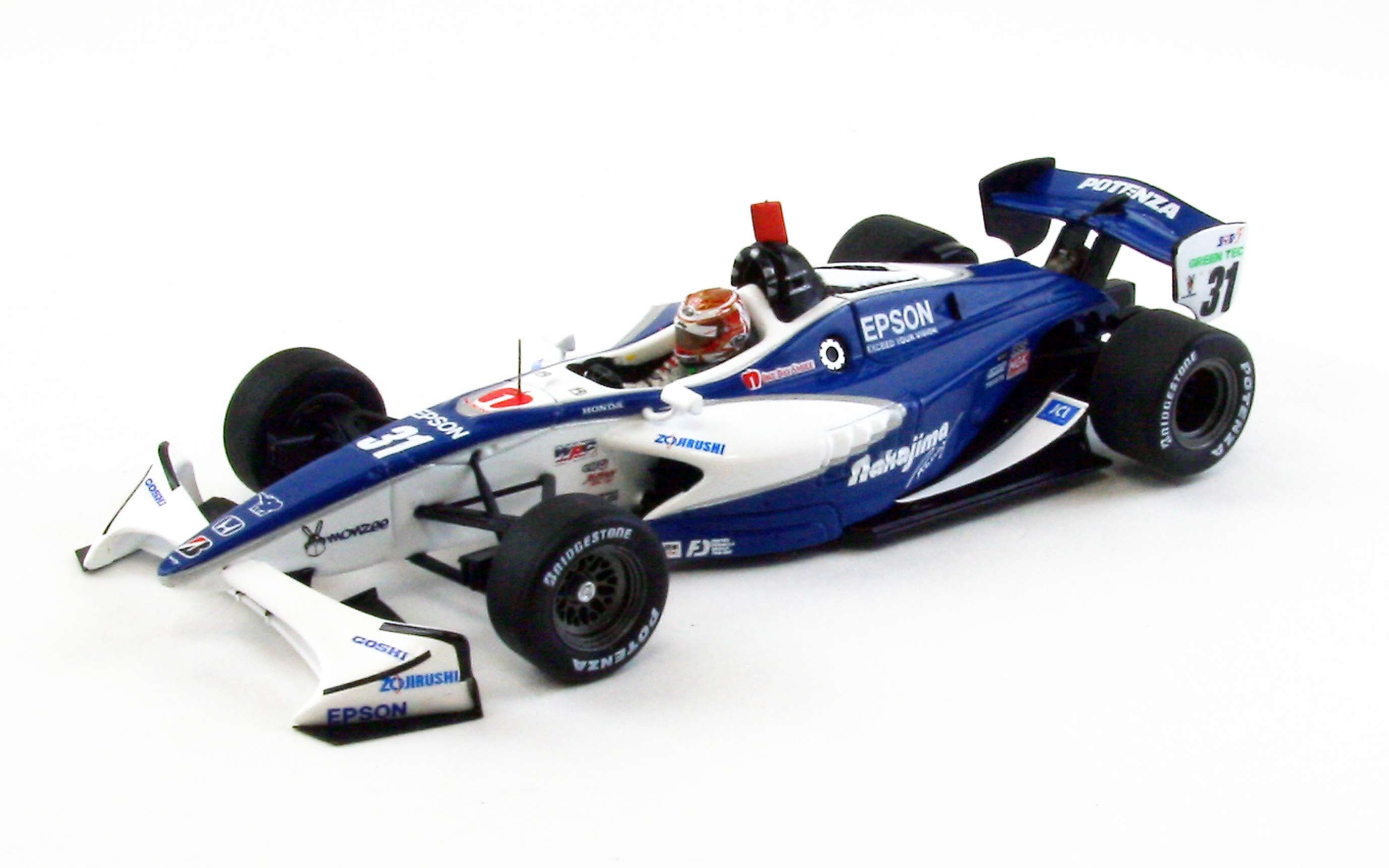 【44865】NAKAJIMA RACING No. 31 Formula NIPPON 2012 【RESIN】