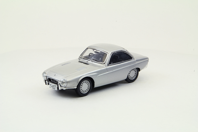 【44879】Toyota Publica Sports 1962 Tokyo Motor Show (SILVER) 【RESIN】