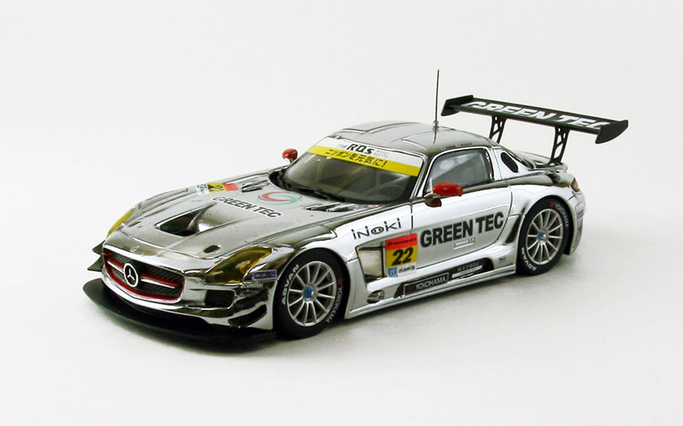 【44932】GREEN TEC SLS AMG GT3 SUPER GT300 2013 No. 22