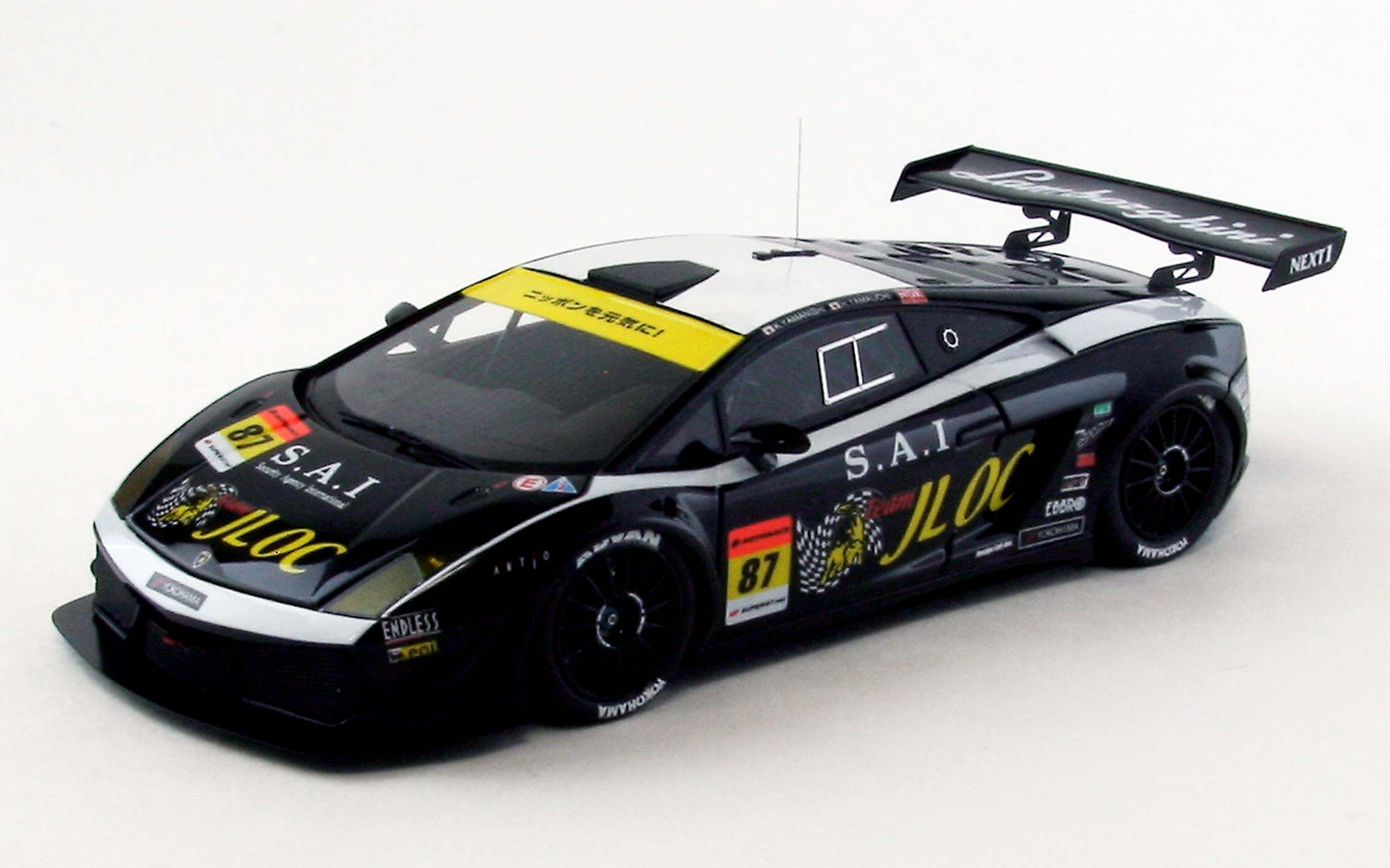 【44955】【MAKE UP】JLOC LAMBORGHINI GT3 SUPER GT300 2012 No. 87 【RESIN】
