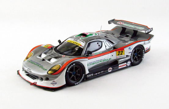 【44960】R'Qs Vemac 350R SUPER GT300 2012 No. 22 【RESIN】