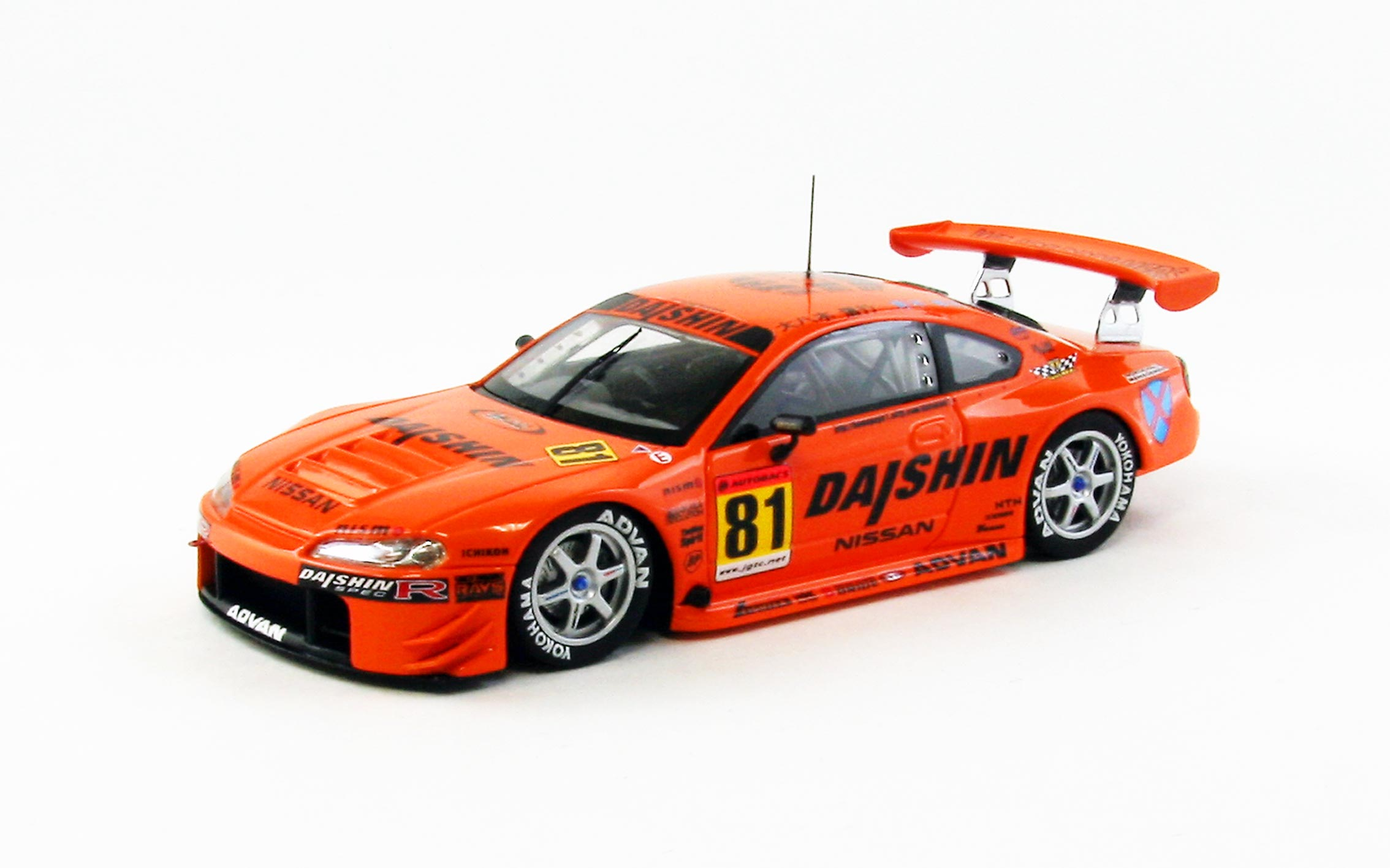 【44968】DAISHIN ADVAN SILVIA JGTC 2001 No.81 【RESIN】