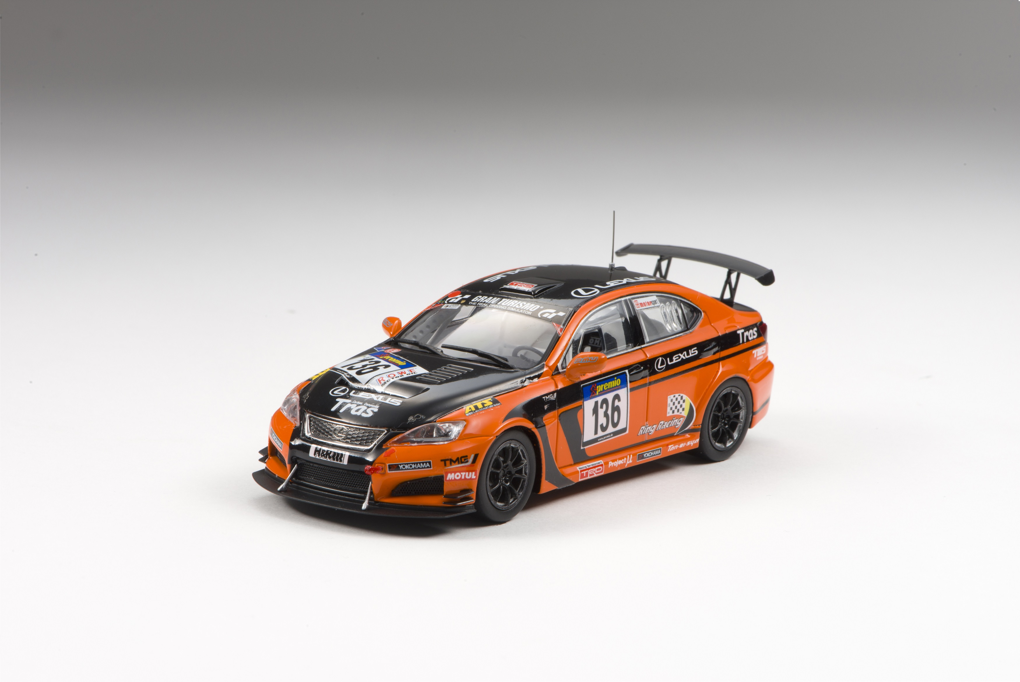 【44998】LEXUS IS F CCS-R VLN 2013 No.136 【RESIN】