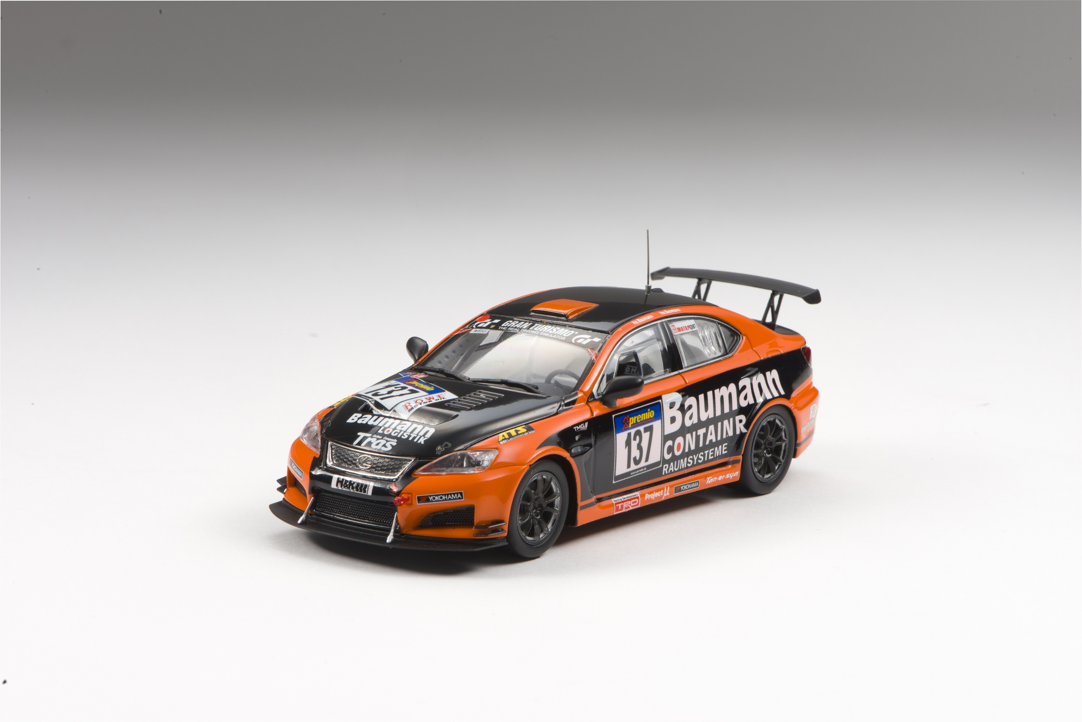 【44999】LEXUS IS F CCS-R VLN 2013 No.137 【RESIN】