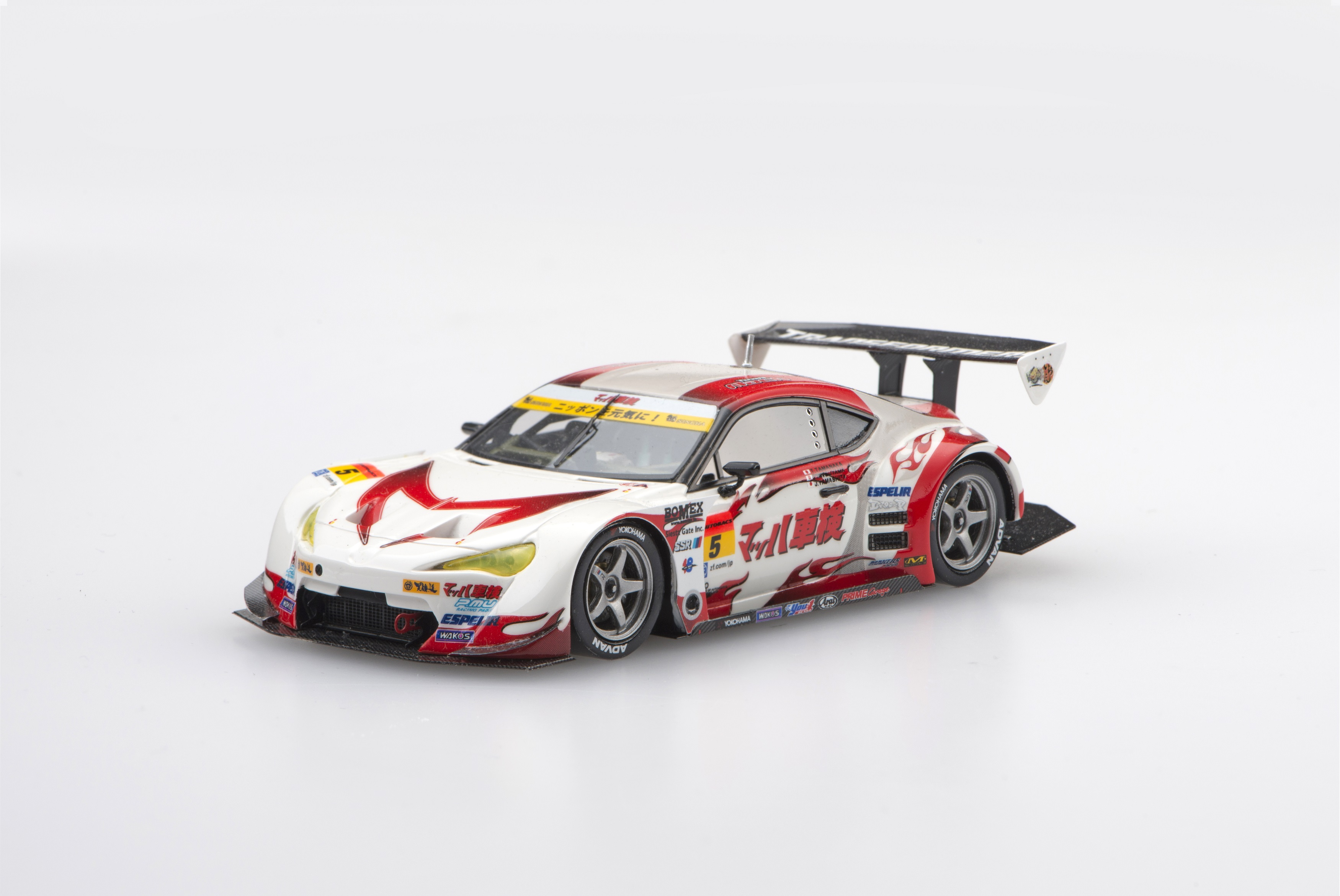 【45301】MACH SYAKEN with iracon 86c-west SUPER GT300 2015 No.5 【RESIN】