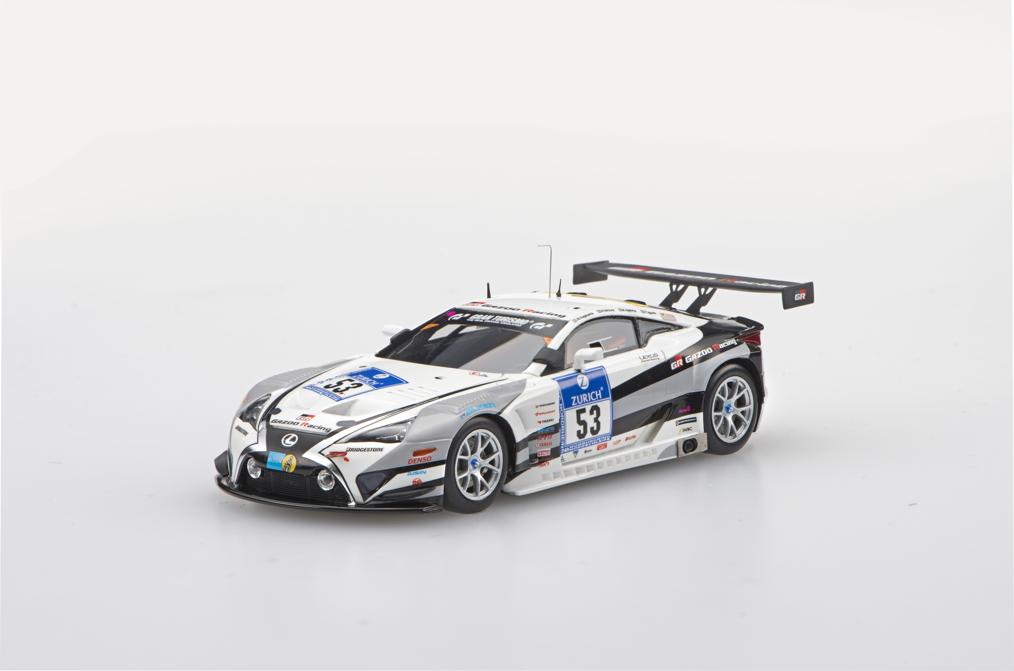 ☆予約品☆【45330】LEXUS LFA Code X Nurburgring 24-hour Race 2015 No53 【RESIN】