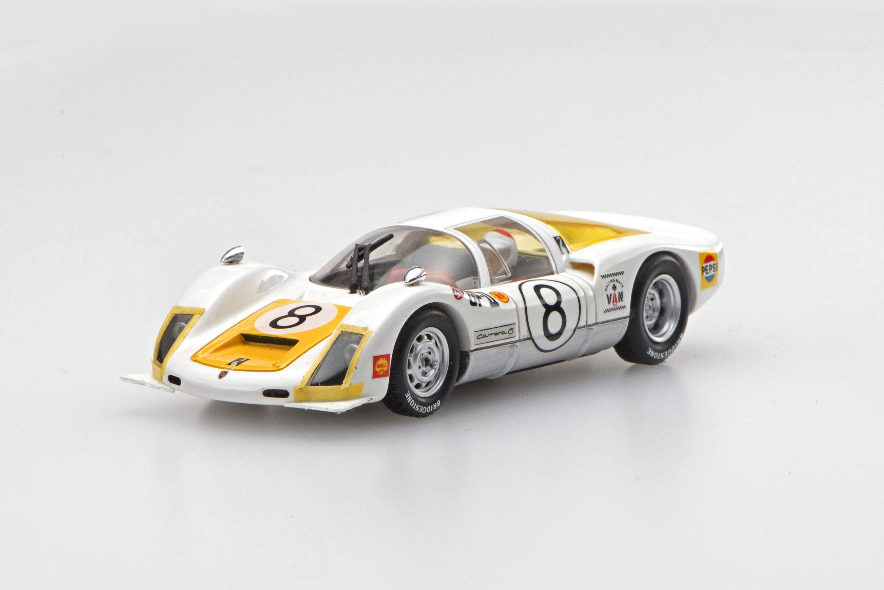 ☆予約品☆【45344】Porsche 906 1967 Japan GP Winner IKUZAWA No.8 【RESIN】