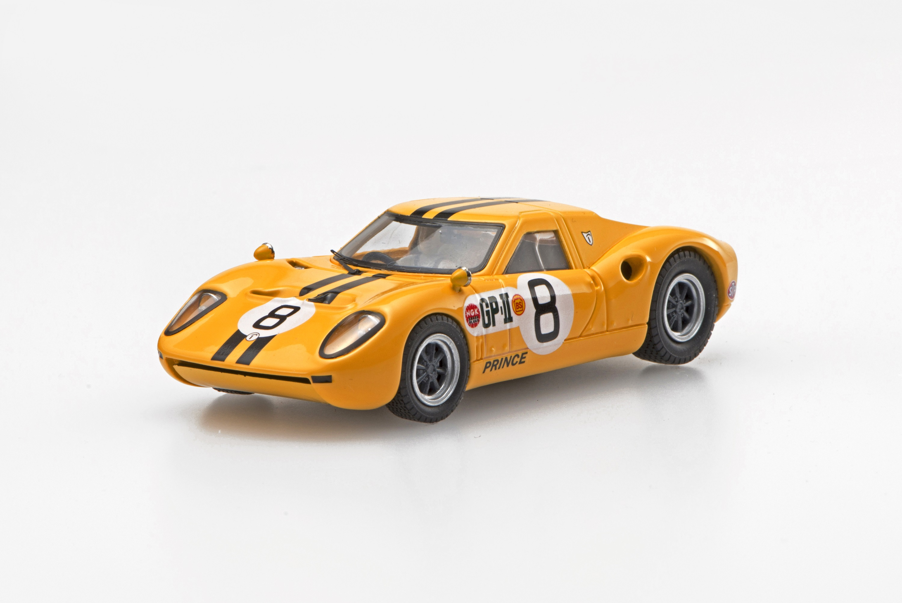 【45345】Prince R380 1966 Japan GP IKUZAWA No.8 【RESIN】