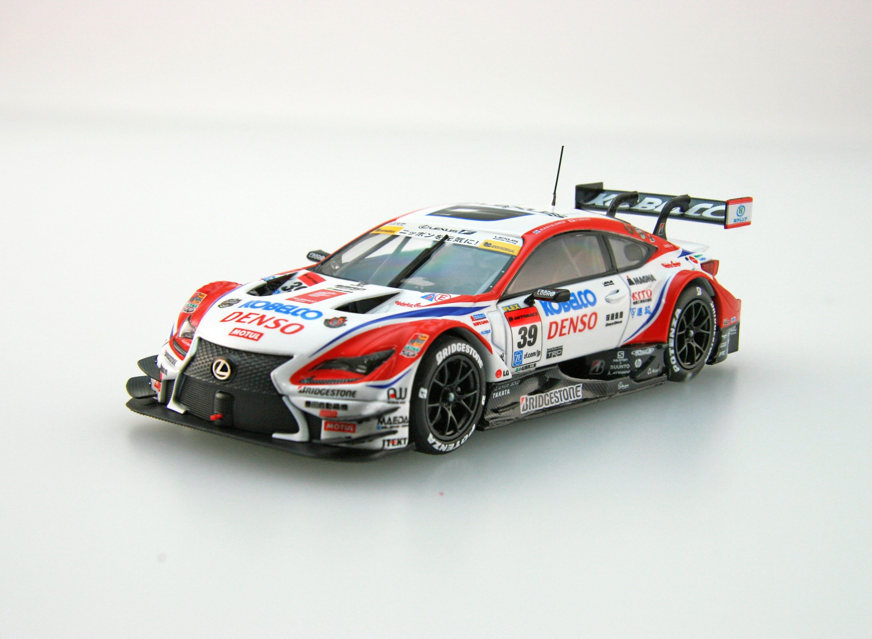 【45378】DENSO KOBELCO SARD RC F SUPER GT GT500 2016 Champion Car No.39