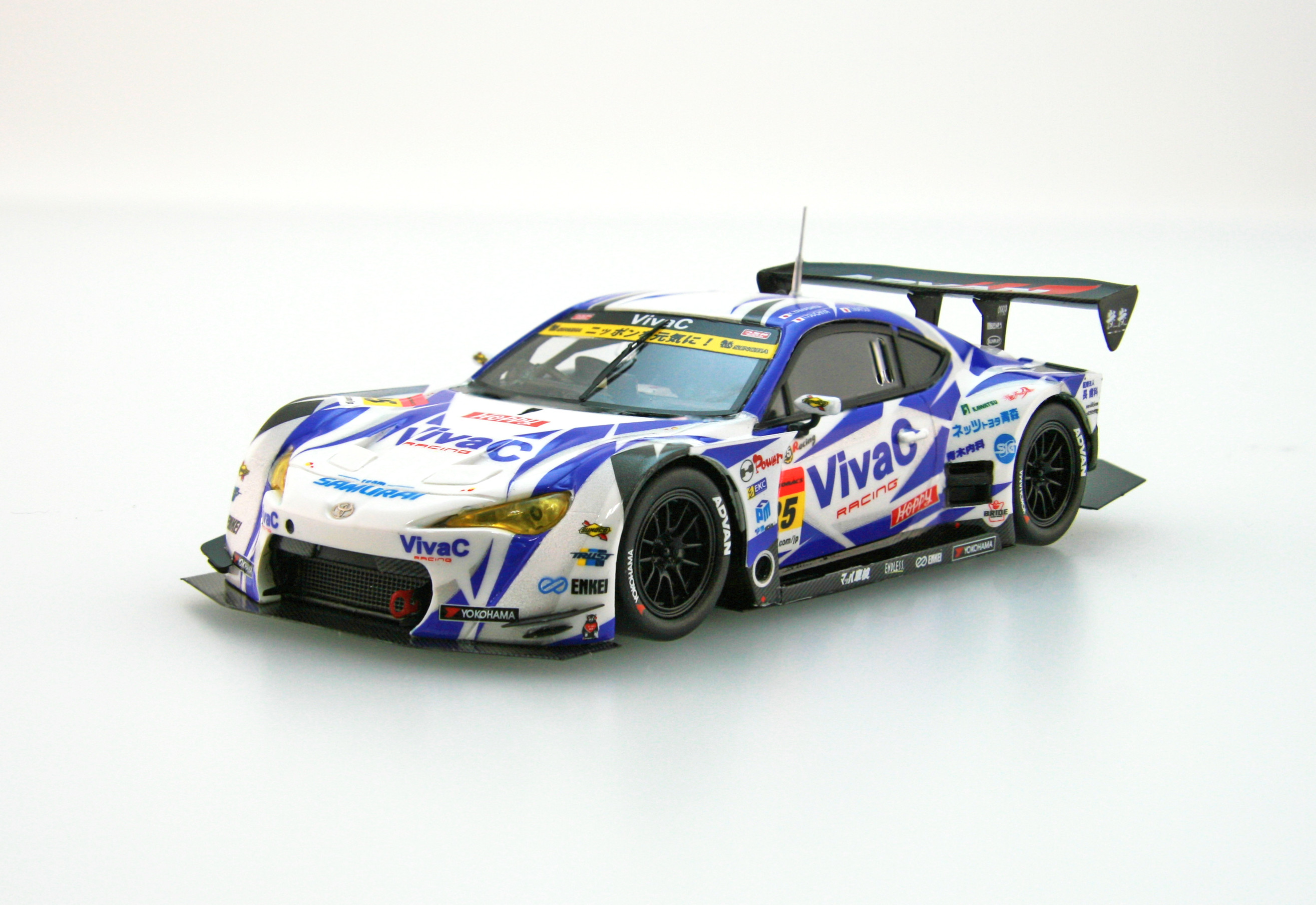 【45379】VivaC 86 MC SUPER GT GT300 2016 Champion Car No.25