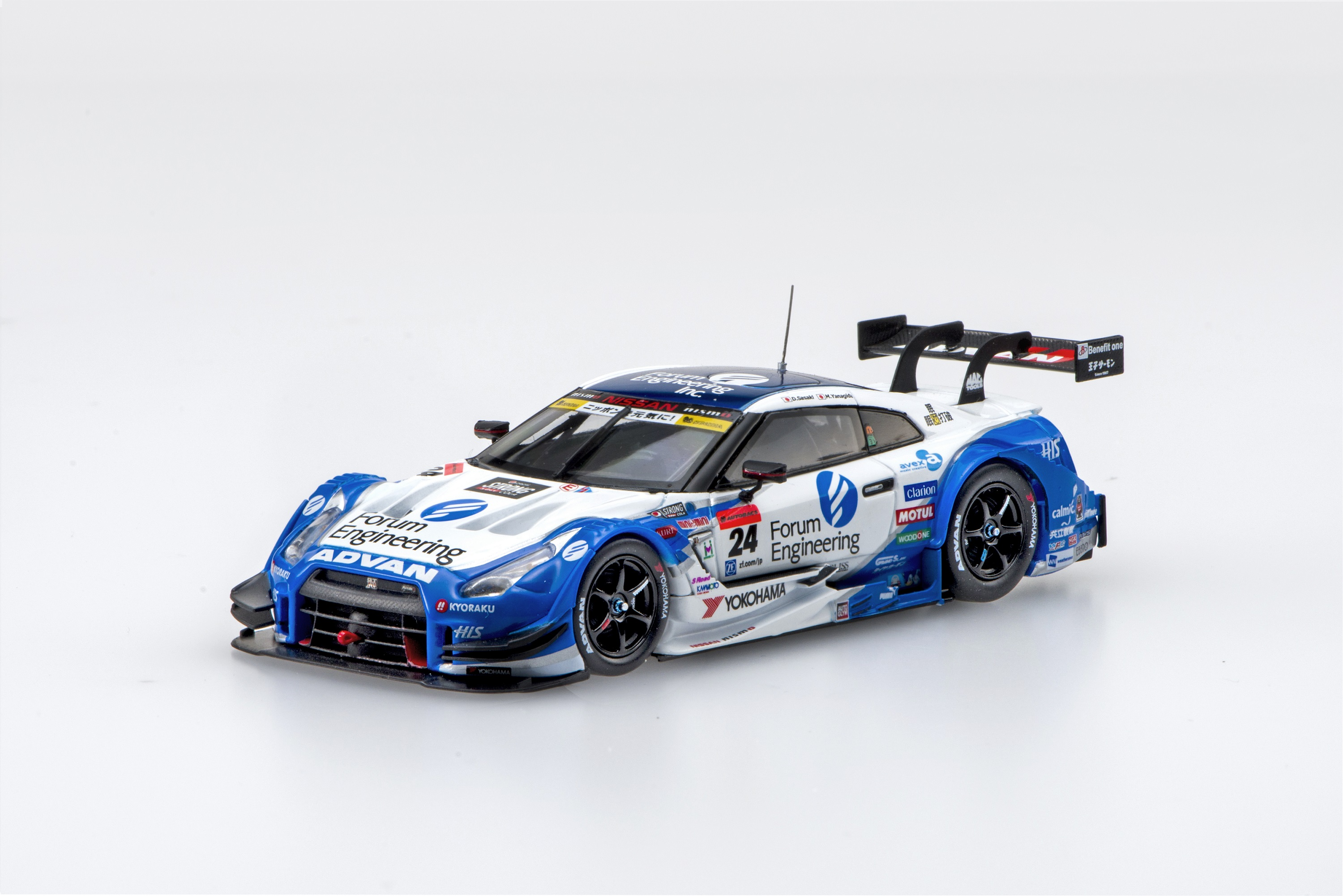 【45383】Forum Engineering ADVAN GT-R SUPER GT GT500 2016 Rd.4 Sugo Winner No.24