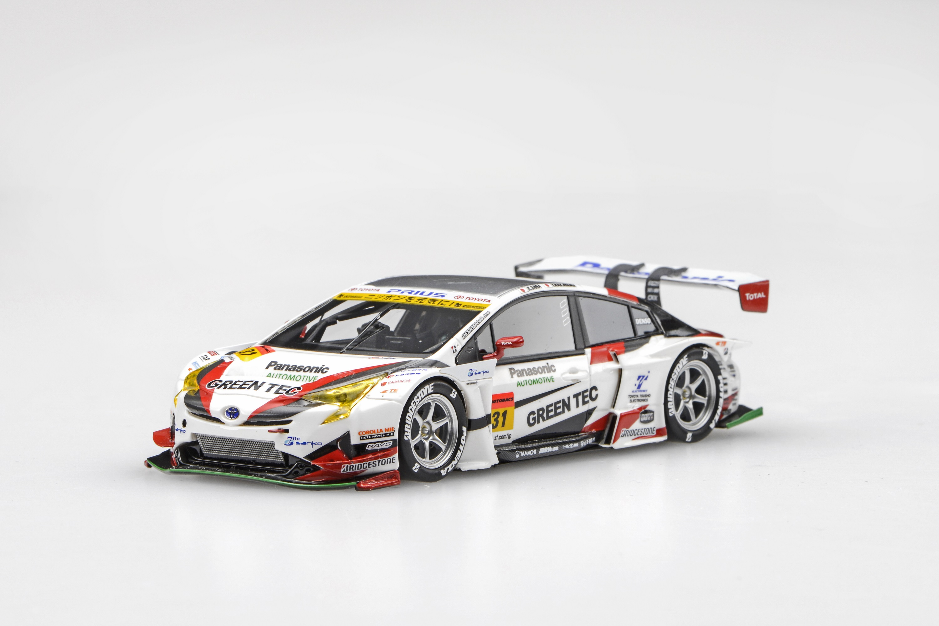 【45411】TOYOTA PRIUS apr GT SUPER GT GT300 2016 No.31 [RESIN]