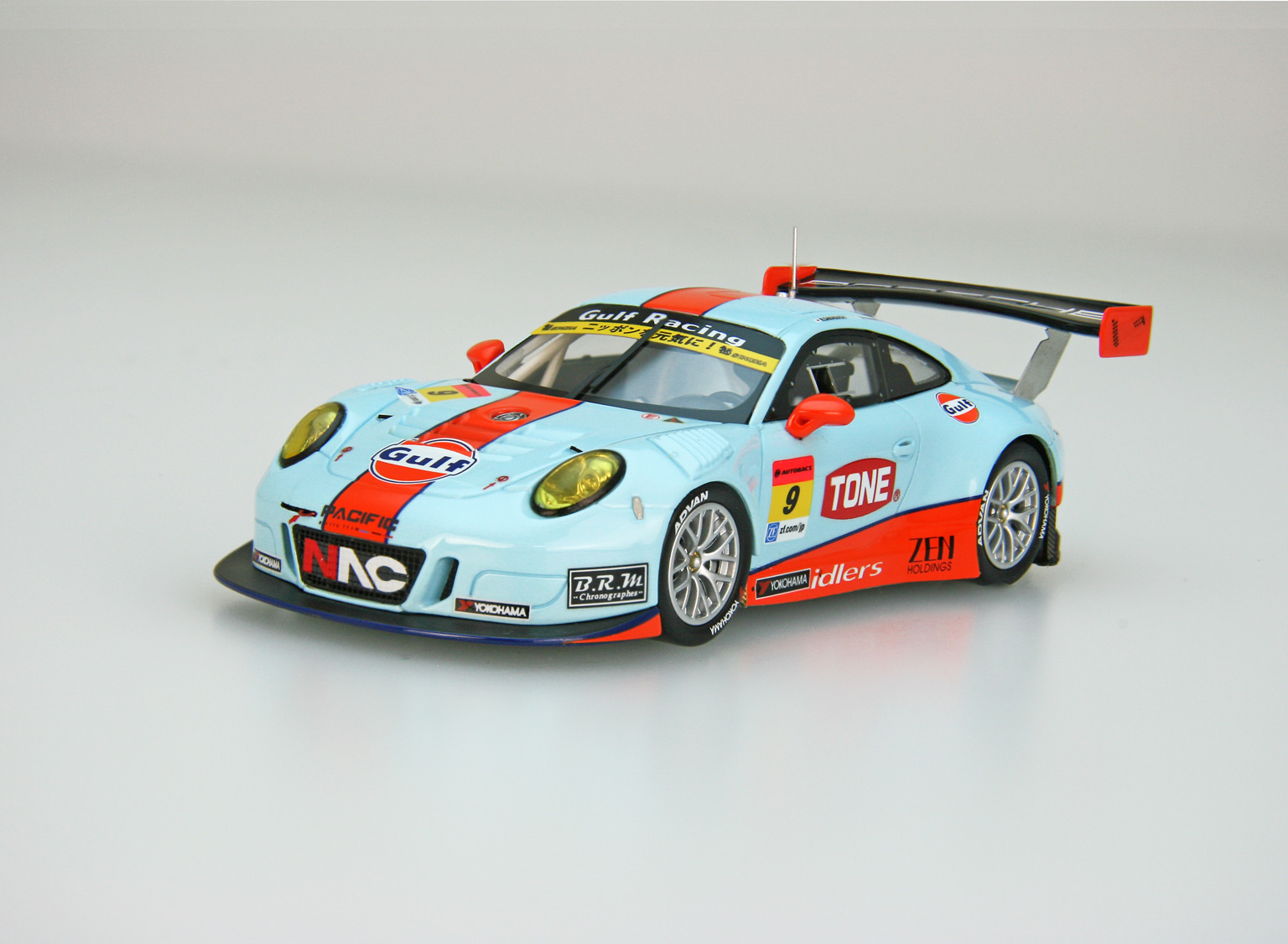 【45413】GULF NAC PORSCHE 911 SUPER GT GT300 2016 No.9 [RESIN]