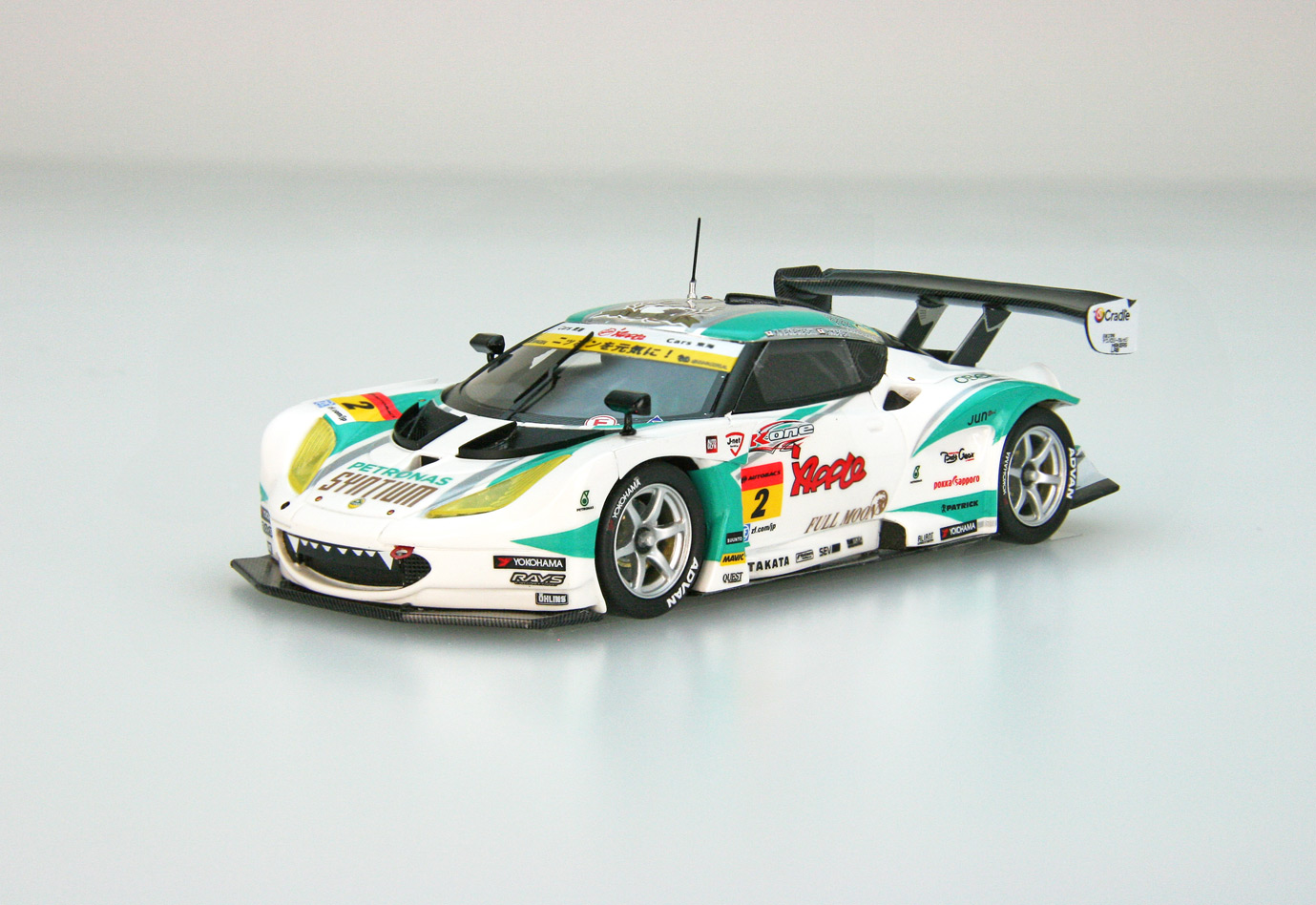 ☆予約品☆【45415】SYNTIUM Apple LOTUS SUPER GT GT300 2016 No.2 [RESIN]