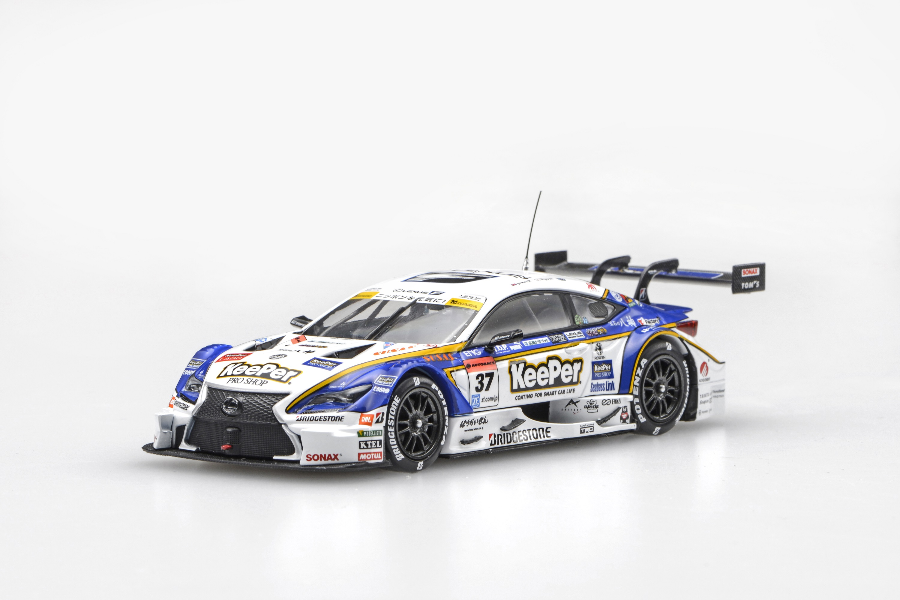 ☆予約品☆【45455】KeePer TOM'S RC F SUPER GT GT500 2016 Rd.2 Fuji No.37