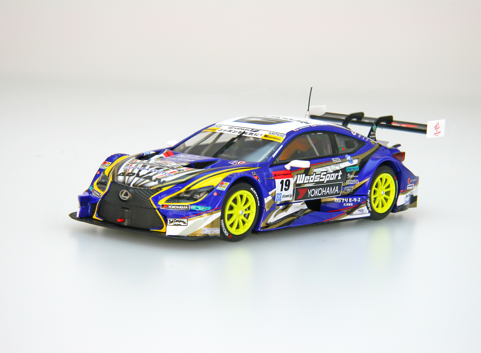 【45459】WedsSport ADVAN RC F SUPER GT GT500 2016 Rd.2 Fuji No.19