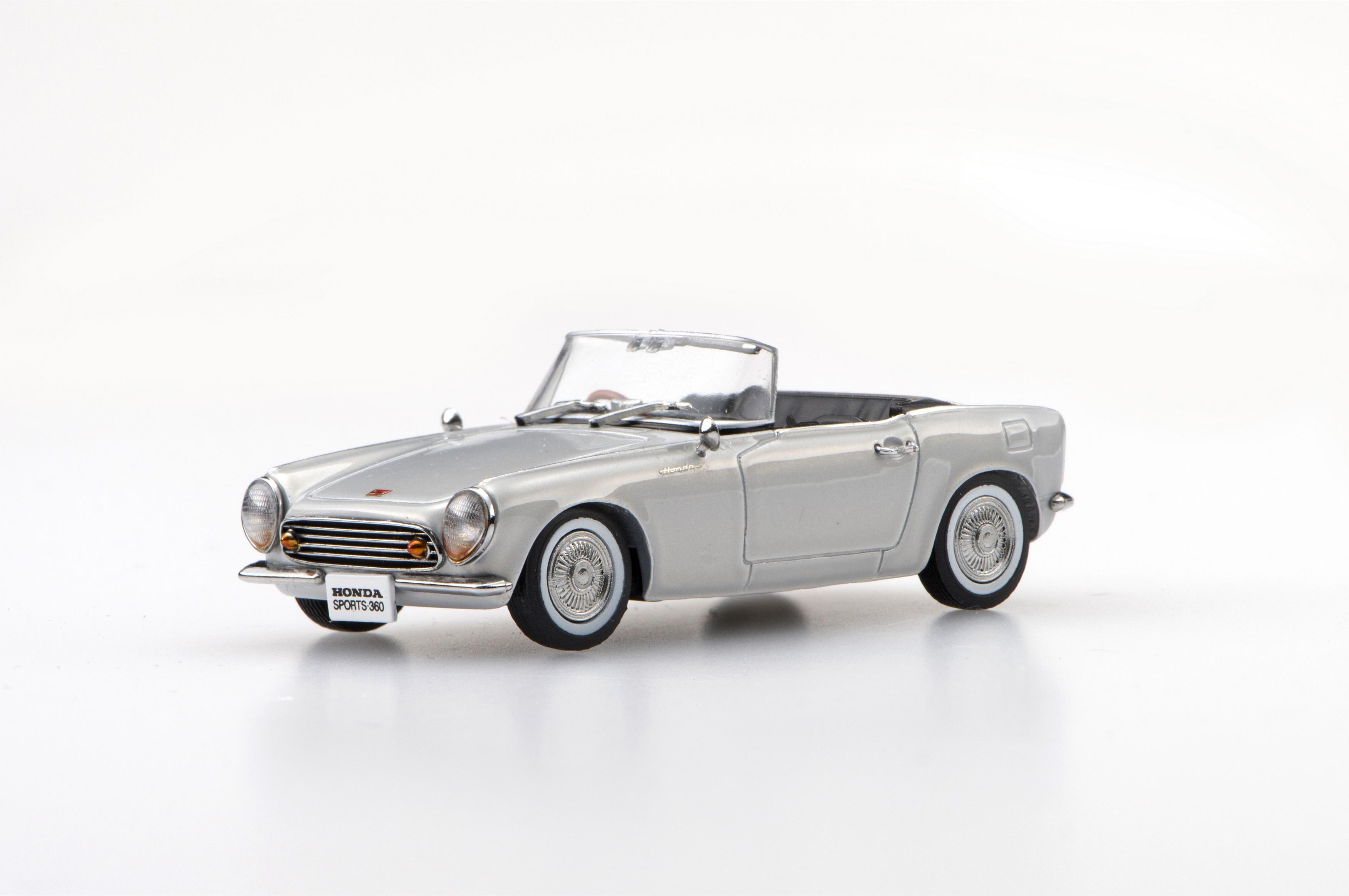 ☆予約品☆【45465】Honda SPORTS 360 1962 (Silver) 【RESIN】