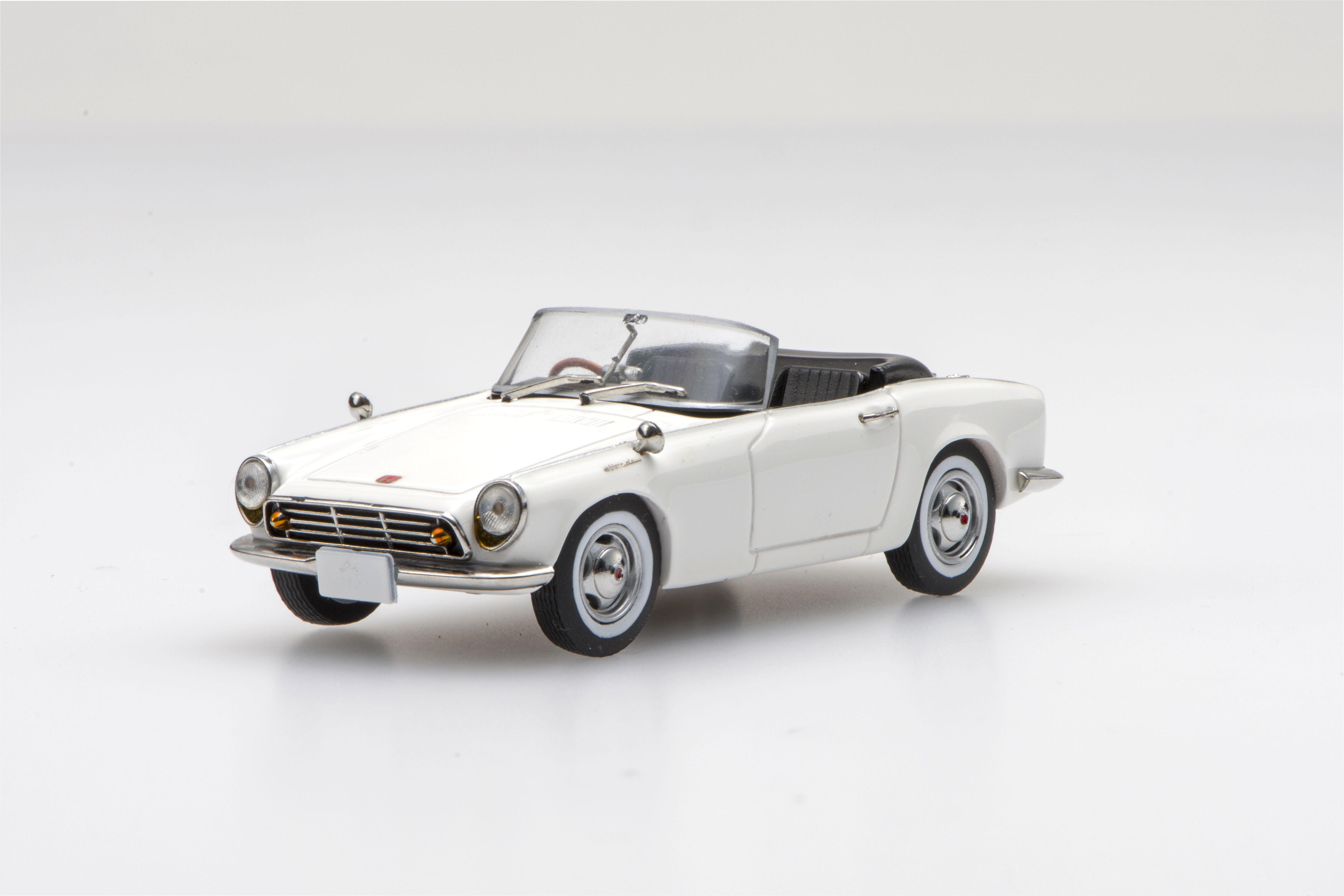 ☆予約品☆【45466】Honda S500 1963 (White) 【RESIN】