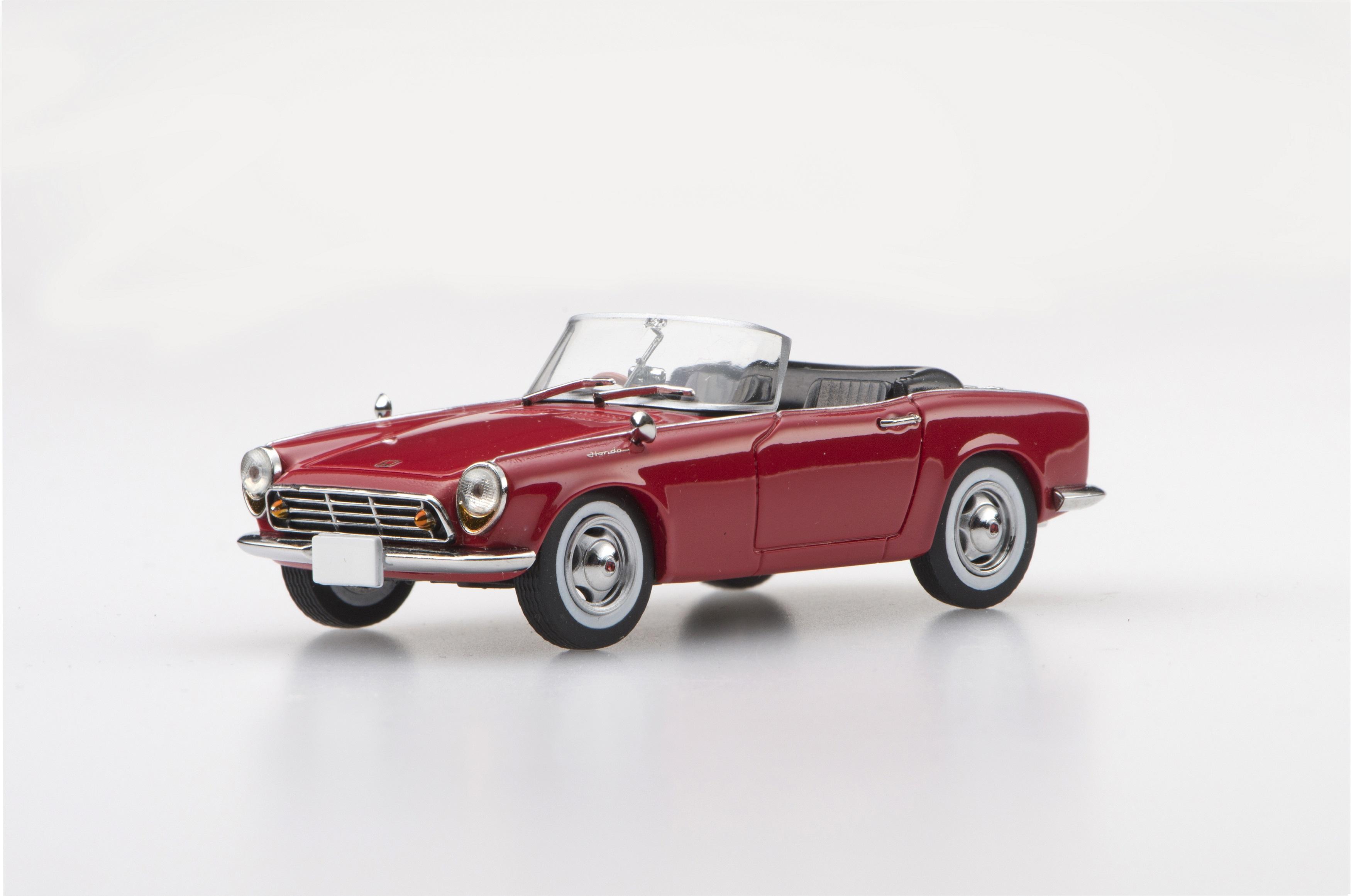 ☆予約品☆【45468】Honda S500 1963 (Red) 【RESIN】