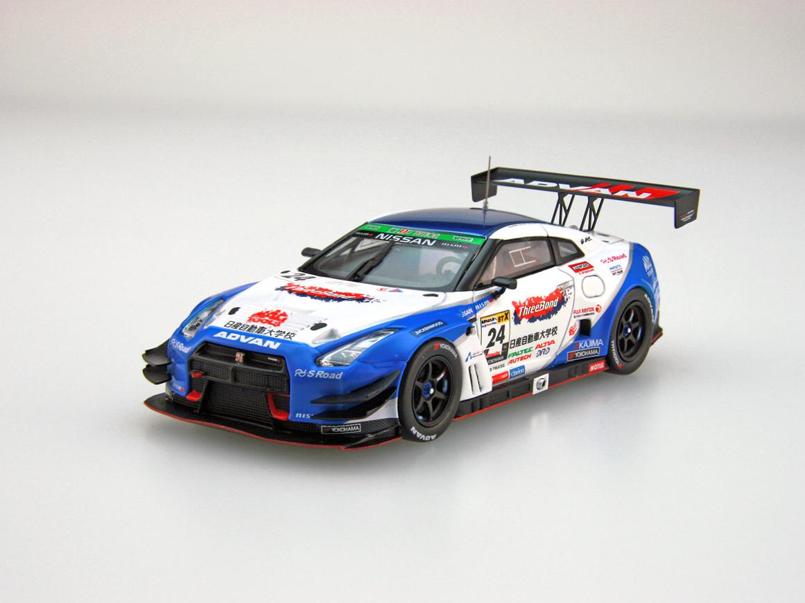 【45484】ThreeBond 日産自動車大学校 GT-R SUPER TAIKYU 2016 No.24