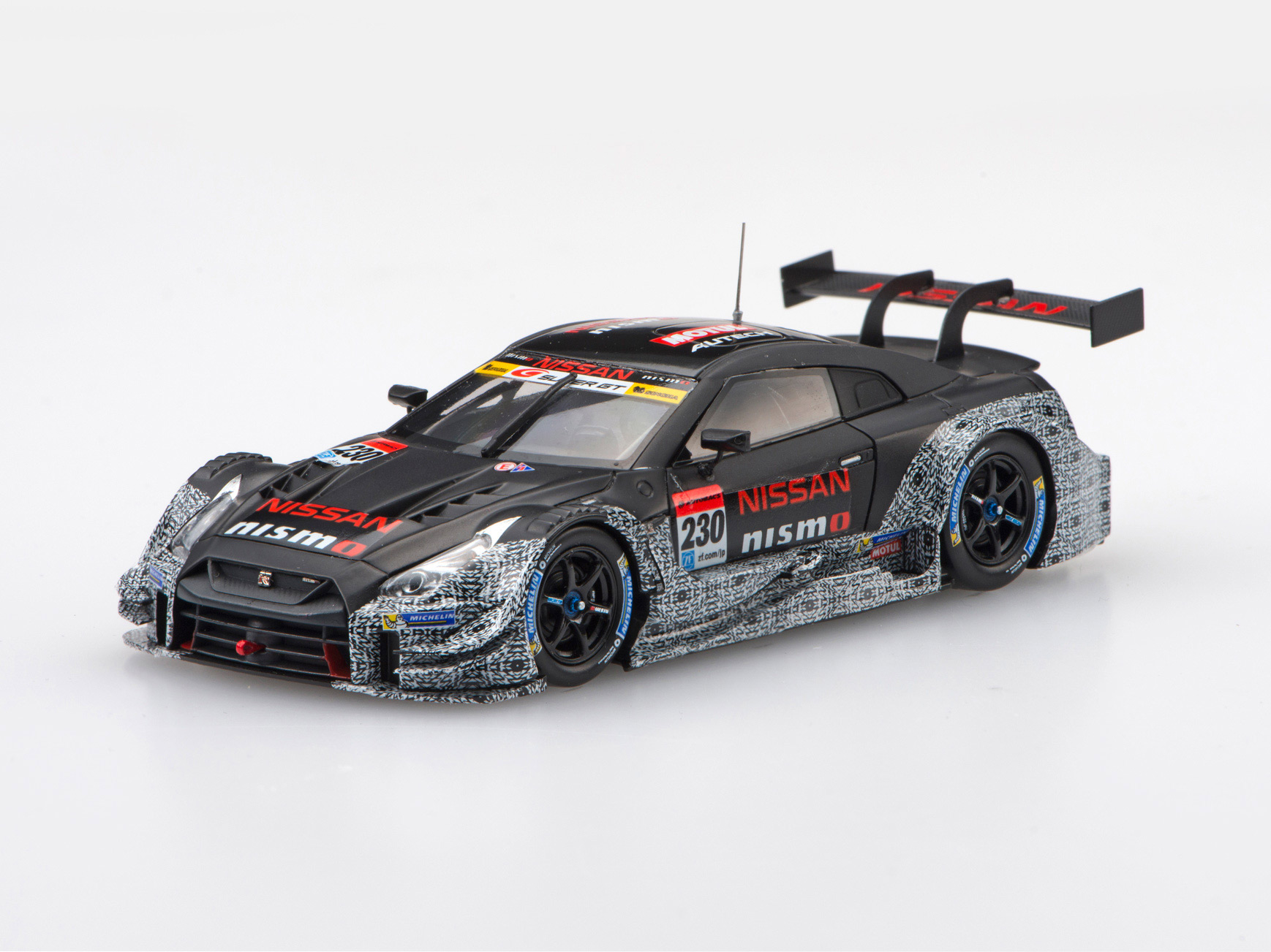 ☆ホビーショー記念モデル☆【45501】NISSAN GT-R NISMO GT500 2017 SUPER GT test car No.230 【RESIN】