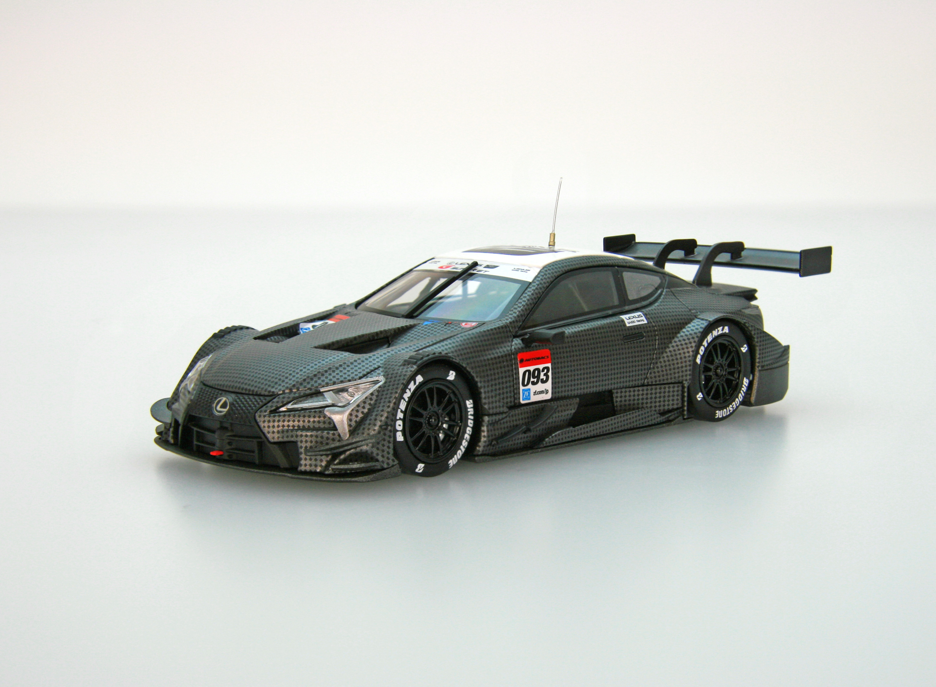 ☆EBBRO限定☆【45502】LEXUS LC500 Test Car SUPER GT GT500 2017
