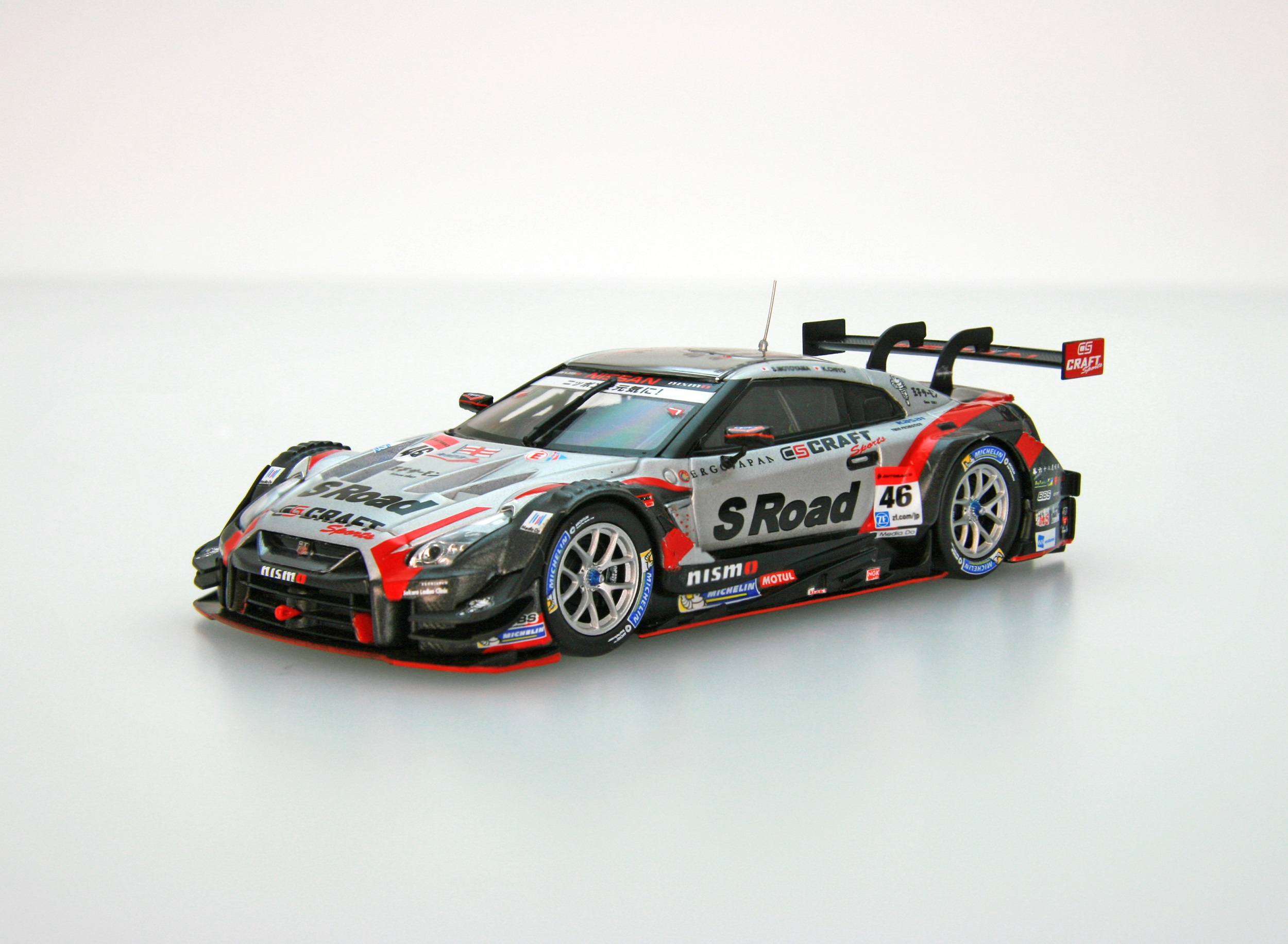 ☆予約品☆【45512】S Road CRAFTSPORTS GT-R SUPER GT GT500 2017 No.46