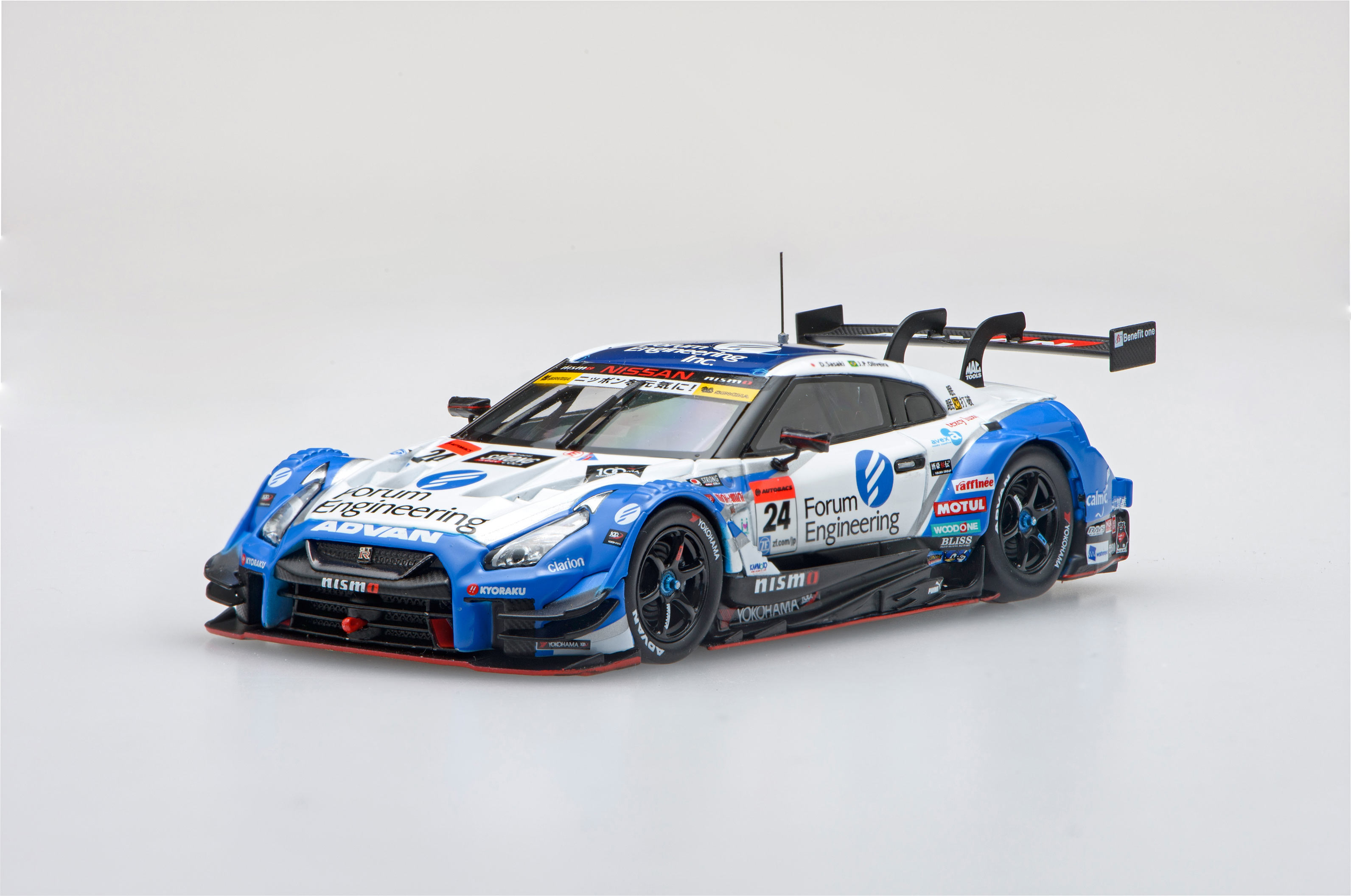 【45513】Forum Engineering ADVAN GT-R SUPER GT GT500 2017