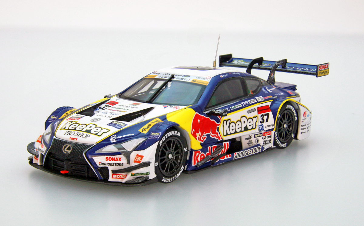 ☆予約品☆【45520】KeePer TOM'S LC500 SUPER GT GT500 2017 No.37