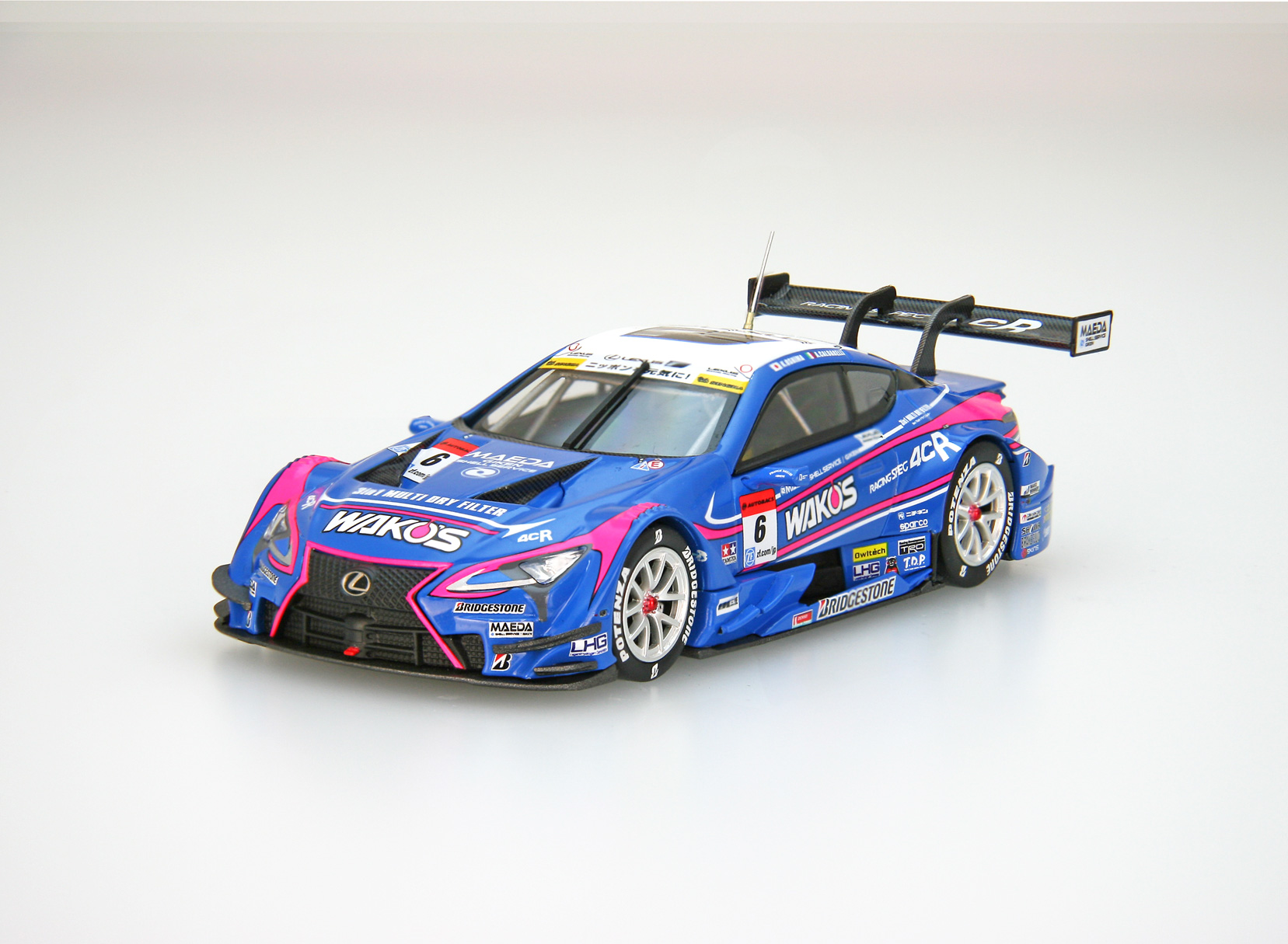 ☆予約品☆【45522】WAKO'S 4CR LC500 SUPER GT GT500 2017 No.6