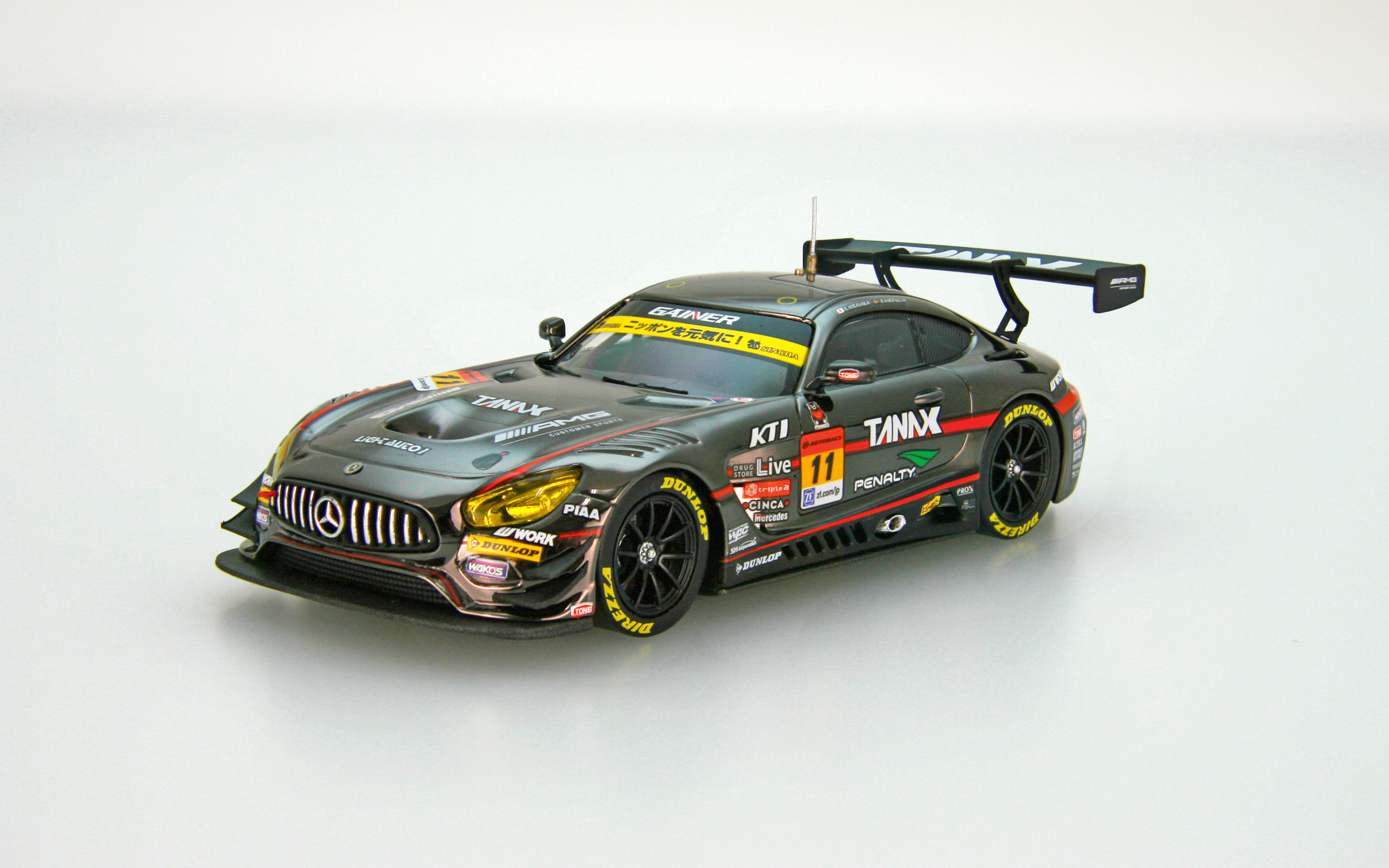 【45541】GAINER TANAX AMG GT3 SUPER GT GT300 2017 No.11