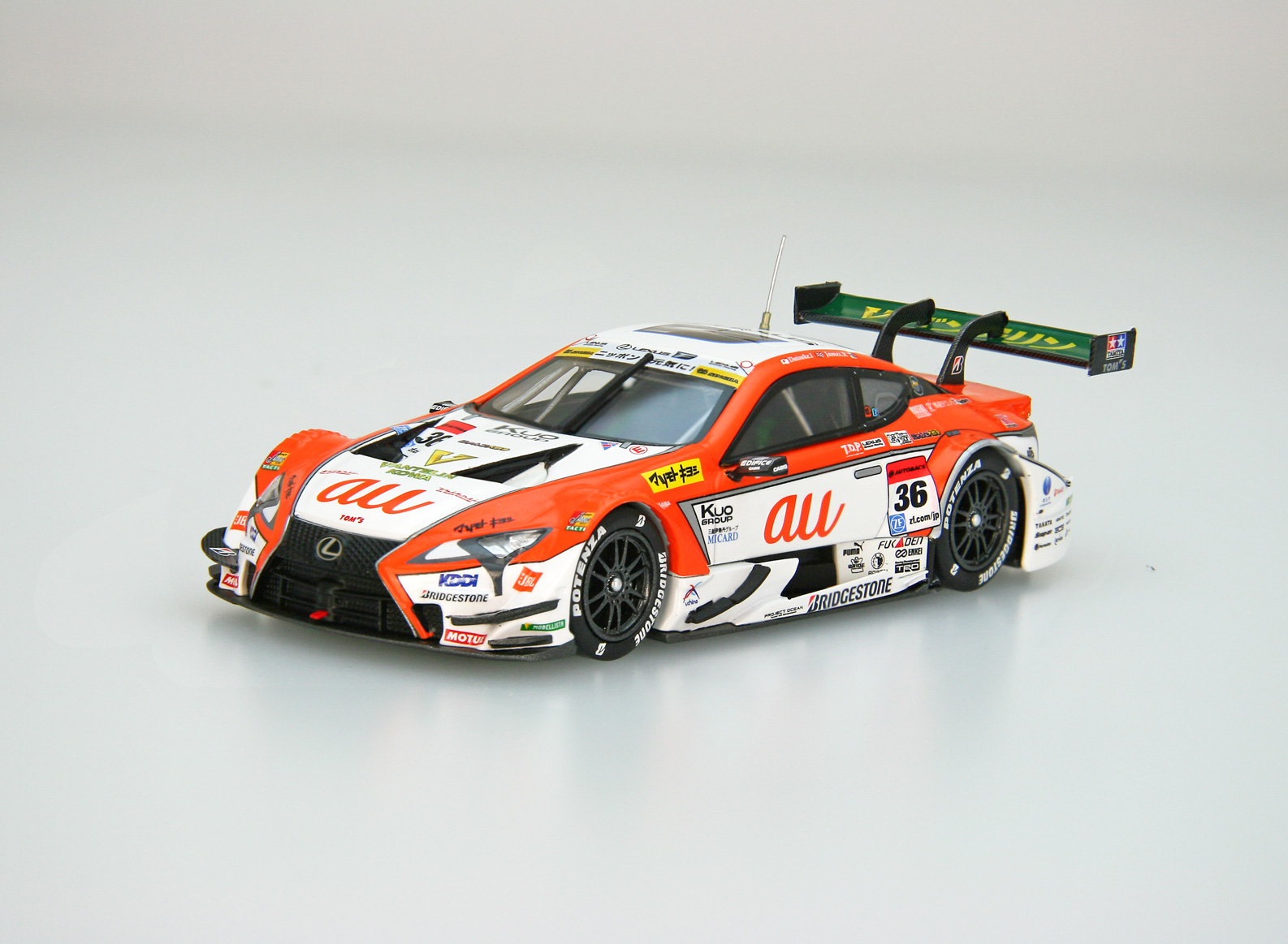 ☆EBBRO限定☆【45553】au TOM'S LC500 SUPER GT GT500 2017 Rd.2 Fuji No.36