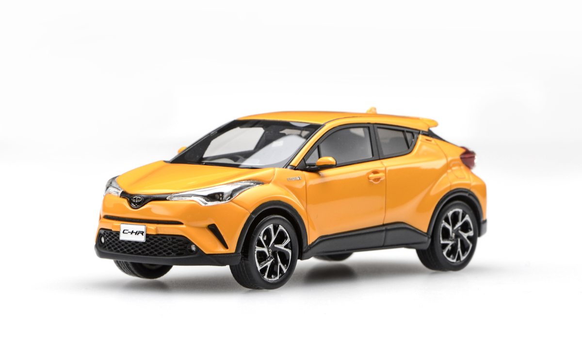 【45601】TOYOTA C-HR (Yellow) [RESIN]