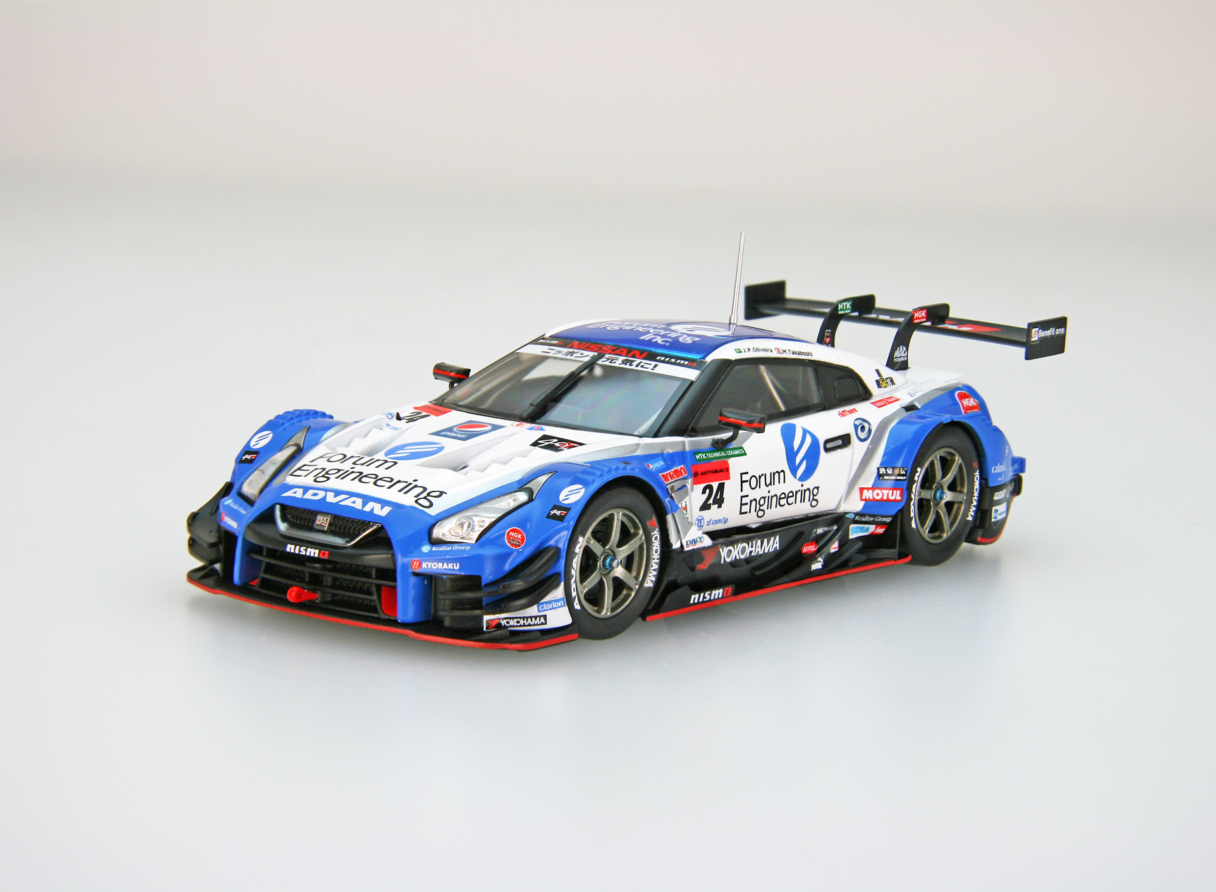 ☆予約品☆【45626】Forum Engineering ADVAN GT-R SUPER GT GT500 2018 No.24